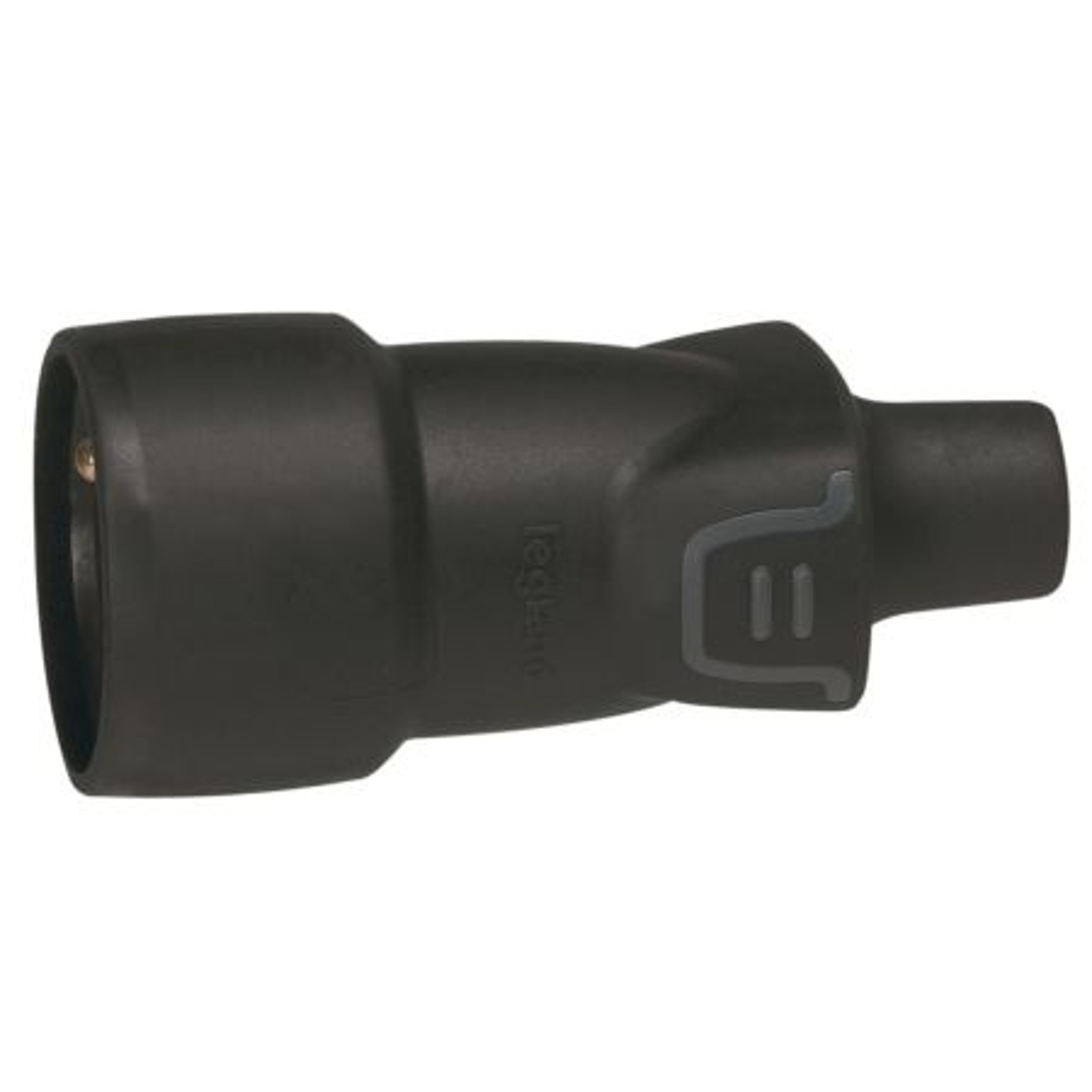 LEGRAND Zásuvka-spojka 2P+T      230V/16A pryž černá IP44