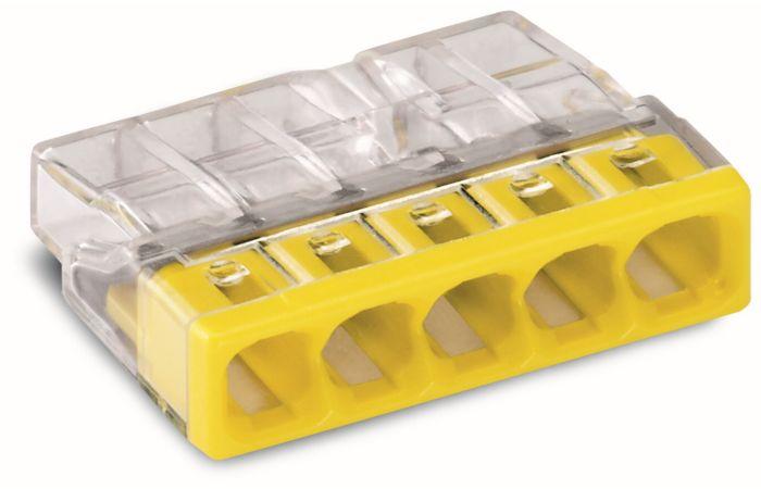 WAGO Svorka 2273-205 5x0,5-2,5mm žlutá, 1 ks