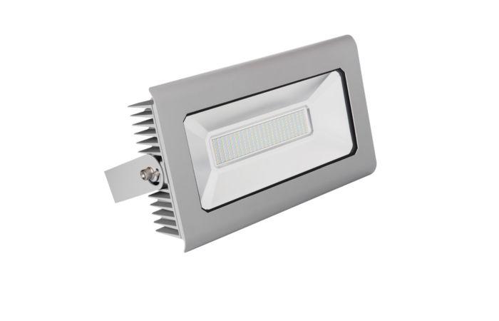 KANLUX LED reflektor ANTRA 150W studená bílá, šedá IP65