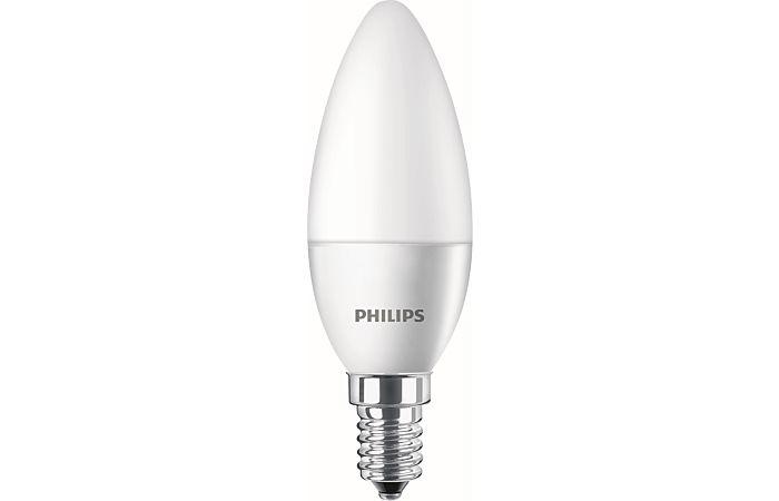PHILIPS LED žárovka 5,5W-40 E14 2700K svíčka CorePro