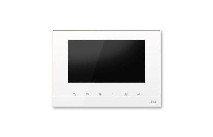 """ABB Videotelefon M22331-W domovní 7"""" bílá"""