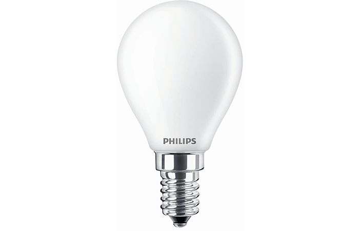 PHILIPS Žárovka LED 4,3W-40 E14 2700K kapka FILAMENT