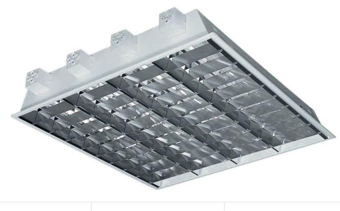 MODUS Svítidlo I 4x18 W hliník DP 600 s el. předřad.