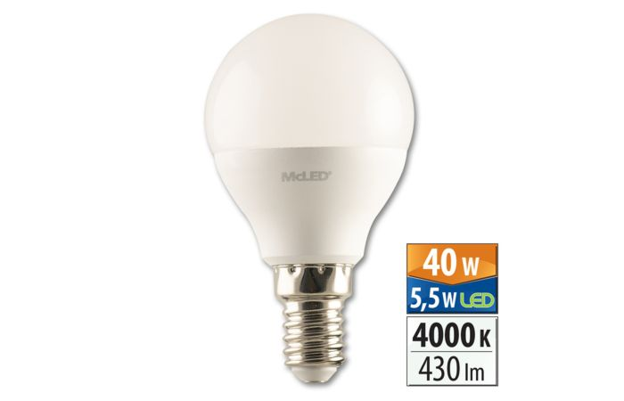 Žár.LED 5,5W-40 E14 4000K 200° McLED