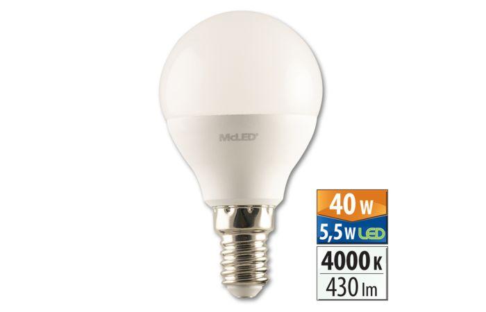Žár.LED 5,5W-40 E14 4000K 200° McLED