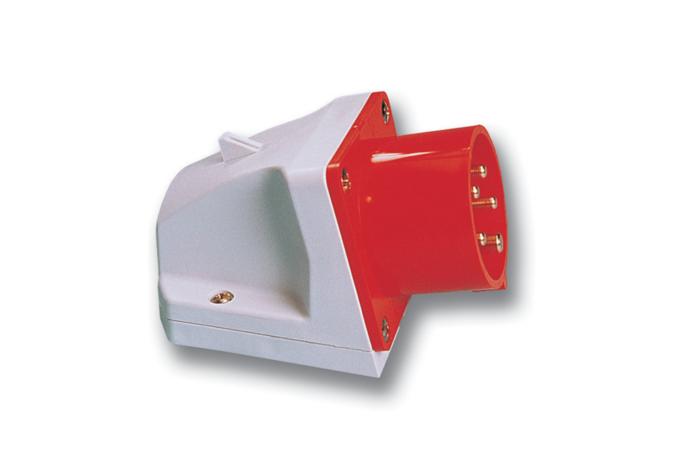 PCE Přívodka 16A/400V 4-pól. IP44 nástěnná