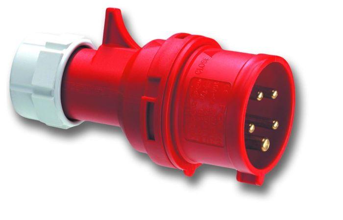 PCE Vidlice 32A/400V 5-pól. IP44