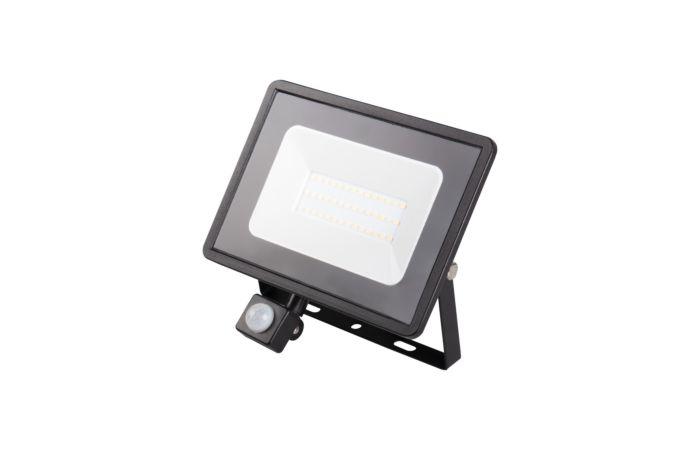 KANLUX Svítidlo LED GRUN V2 30W 4000K, reflektor, pohybové čidlo, IP44