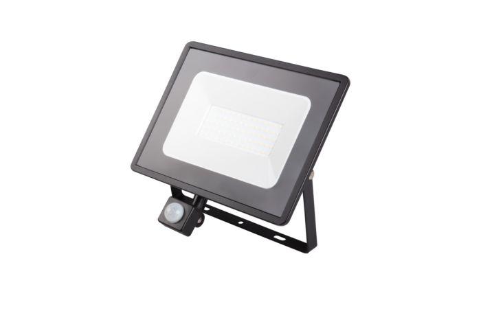 KANLUX Svítidlo LED GRUN V2 50W 4000K, reflektor, pohybové čidlo, IP44