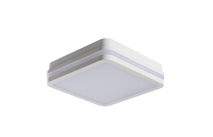 KANLUX LED Svítidlo BENO 18W 4000K s čidlem,  čtverec, barva bílá