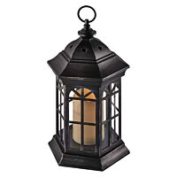 LANTERN 1CAN FLICKER BLACK