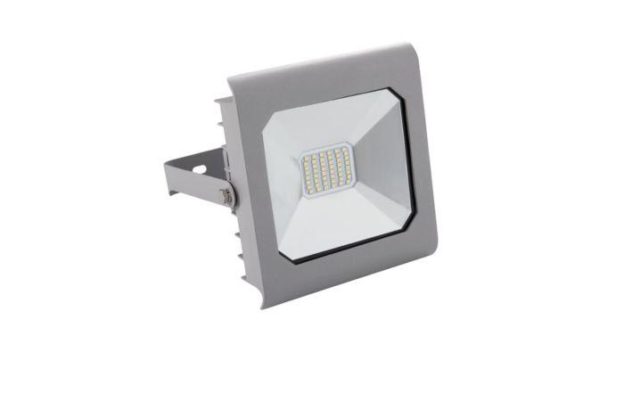 KANLUX LED reflektor ANTRA 30W studená bílá, šedá IP65