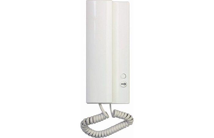 TESLA STROPKOV Domácí telefon 4FP21101 bílý s bzučákem