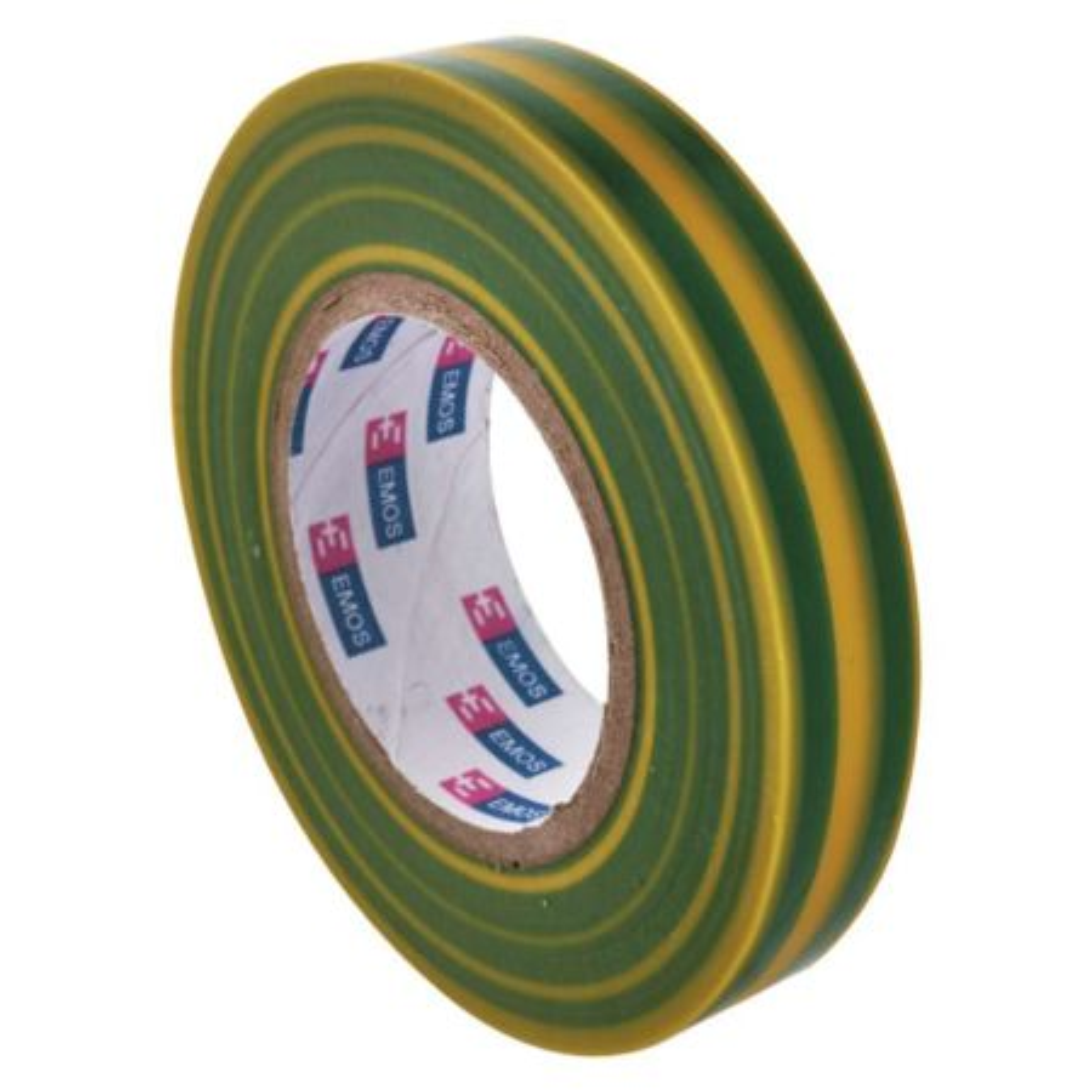 EMOS Páska izolační 15/10m PVC zeleno/žlutá ELEKTRA