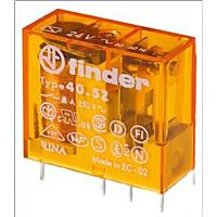 FINDER Relé 40.52 24VAC 2P 8A