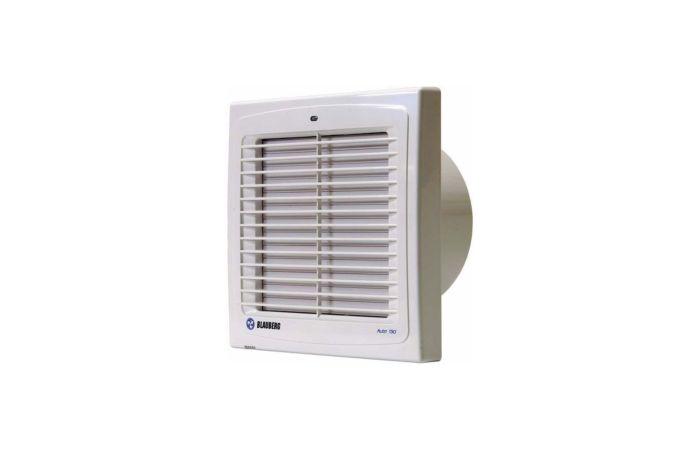 BLAUBERG Ventilátor do koupelny Auto 100 T s aut. žaluzií a časovým doběhem