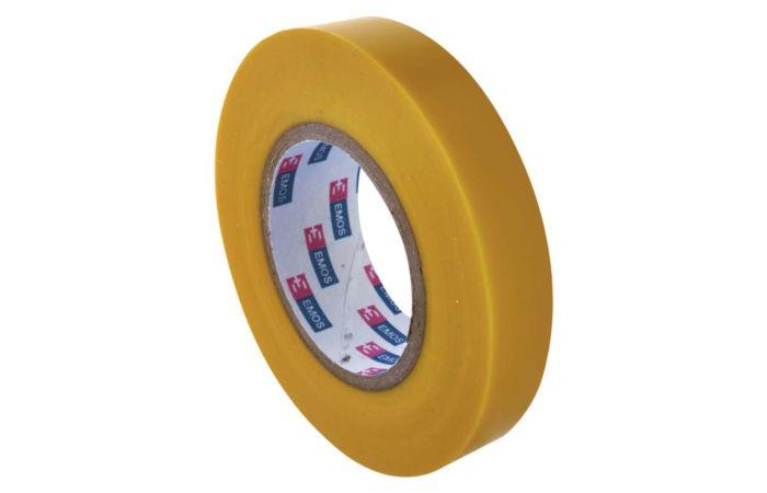 EMOS Páska izolační 15/10m PVC žlutá ELEKTRA