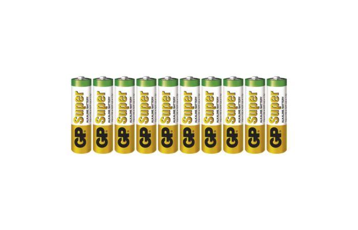 GP Baterie tužková super LR06 10SH