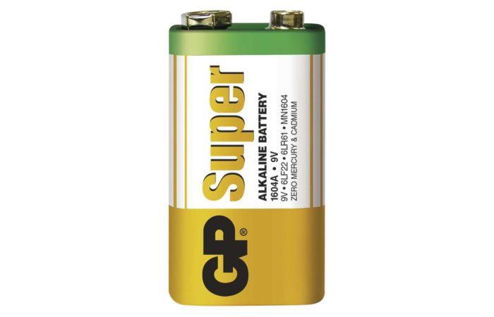 GP Baterie 9V alkalická ALKACELL 9VA