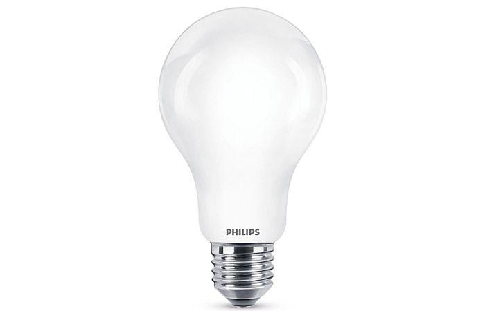 PHILIPS Žárovka LED Classic (hruška) 9W (60W), E27, teplá bílá, 2700K, sada 3ks