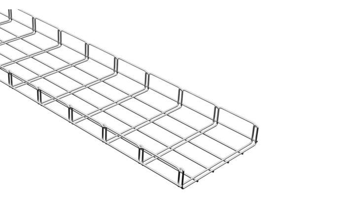 MERKUR Drátěný kabelový Žlab 250/50 M2 galvanický zinek, délka 2m