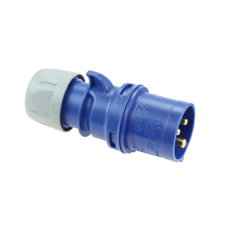 PCE Vidlice 16A/230V 3-pól. IP44