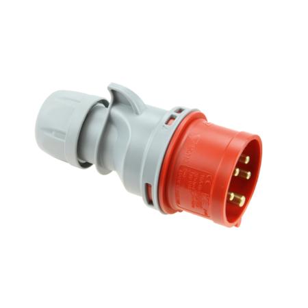 PCE Vidlice 16A/400V 4-pól. IP44 bezšroubová