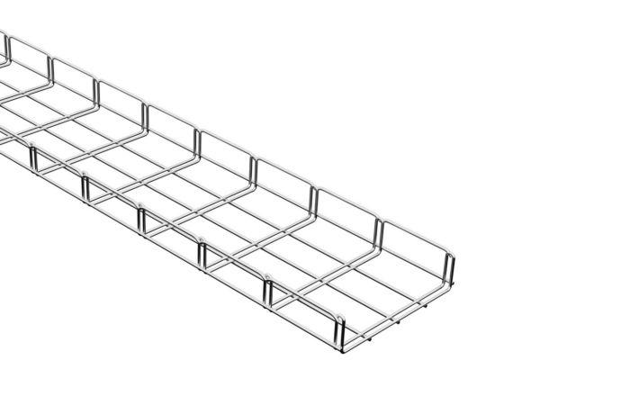 MERKUR drátěný kabelový žlab 200/50 M2 galvanický zinek, délka 2m