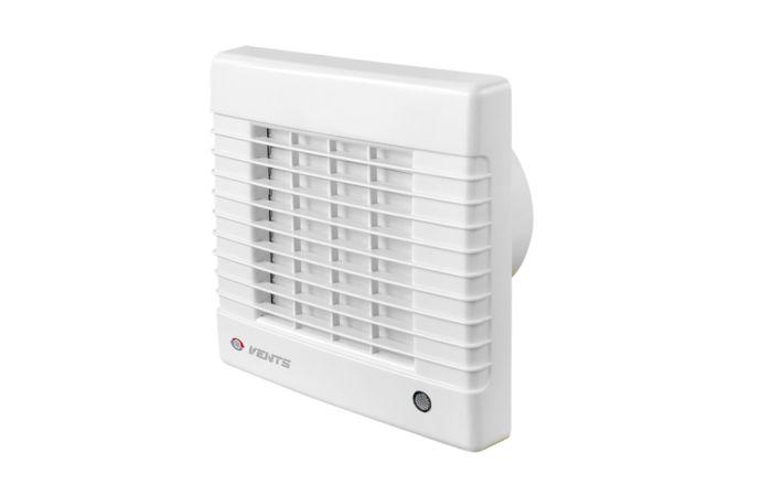 VENTS Ventilátor do koupelny 100 MATL s aut. žaluzií a časovým doběhem