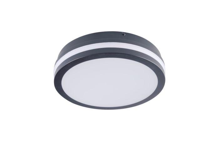 KANLUX LED Svítidlo  BENO 18W 4000K, kulaté, barva grafit
