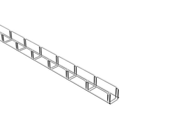 MERKUR drátěný kabelový žlab, 50x50 mm, délka 2 m, M2 galvanický zinek